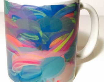 Custom Abstract mug designs