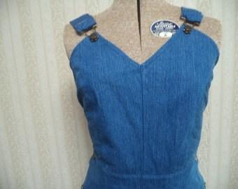 Rosie The Riveter Handmade Overalls