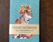 Notebook, Jotter, Mini Sketchbook of Magus & Marvel