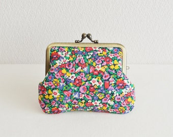 Frame purse|Liberty|floral|multi|cotton[343]|(F22+)
