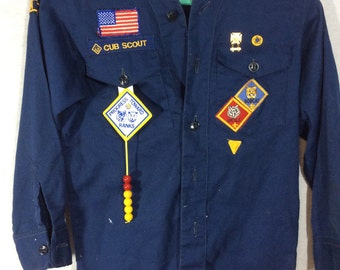 Cub Scout Button Up Shirt