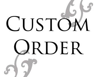 Re-order for Michelle Reidy