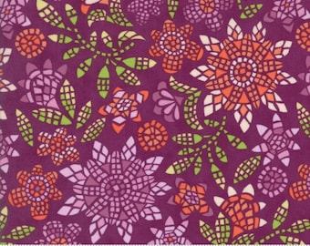 Grand Canal by Kate Spain - Mosaic in Fig (27252-19) - Moda - 1 Yard
