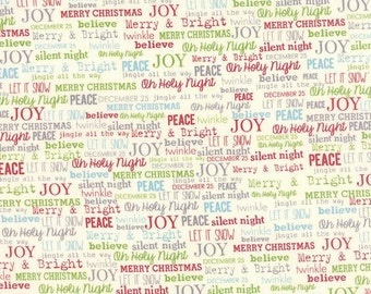 The Cookie Exchange by Sweetwater - Joy in Multi (5624-11) - Moda - 1 Yard