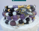 DO NOT PURCHASE - Ravens Bracelet for Michelle - Final Payment on completed bracelet