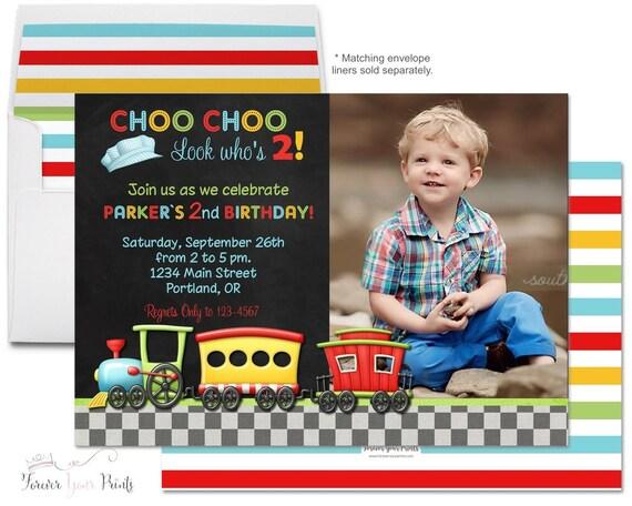Chalkboard choo choo train invitations train birthday invitations il570xn filmwisefo