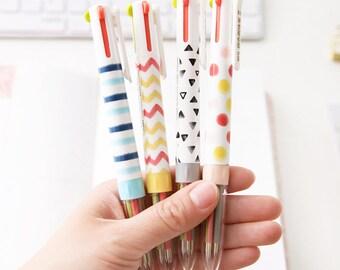 Cute 4 Colors Ballpoint Pen - Ballpoint Pen  - Kawaii Pen