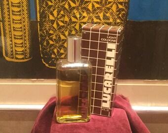 Vintage Lucarelli Light Cologne 4oz Bottle Unused