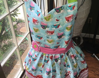 My Cup of Tea Woman's Full Apron