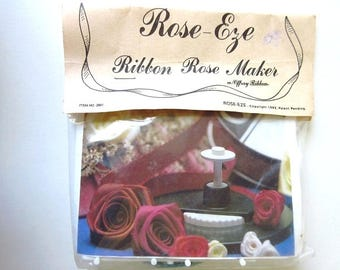 Ribbon Rose Maker, Vintage Rose Eze