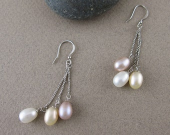 SALE! Freshwater Pearl earrings