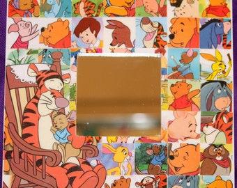 Disney Winnie the Pooh Tigger Roo Eeyore Desk or Wall Mirror
