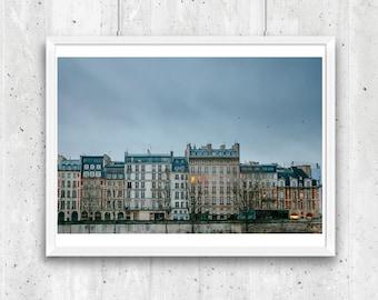Paris in Winter, Unframed Fine Art Photograph