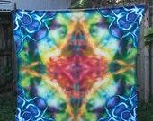 Ice Dyed Flour Sack Towel