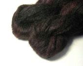 BOTAN Kidmohair Silk in Black Rose  - One of a Kind