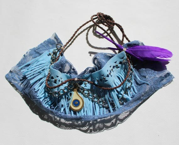 Barefoot sandals, wedding sandals, boho Boot cuffs -boot wraps -  festival barefoot sandals  -boot wraps - boho boot cuffs blue purple
