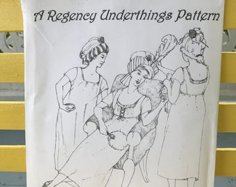 Regency Underthings Pattern