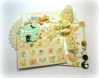Prima Songbird Inspiration Kit Embellishment Kit Life Project Kit for Scrapbook Layouts Cards Mini Albums Tags and Paper crafts 2