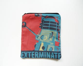 EXTERMMINATE! Dalek, Dr Who pouch