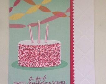 Cake  birthday wishes.
