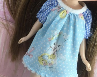 Blythe Smock Dress - Vintage Bear