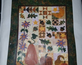 Harvest by Sara Tuttle applique quilt pattern
