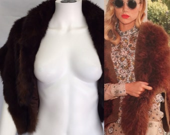 Vintage Mink Fur Shrug/Capelet by Robert Wallace