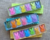 Crayons - EASTER PEEPS - SET of 6 - Easter Basket Filler