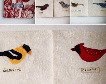 Eco friendly children's songbird cloth book