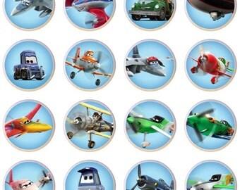 Set Of 16 Disney Planes Airplanes Airplane Plane Ceramic Drawer Pull Cabinet  Knobs