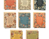 Set of 8 Hymn Greeting Cards