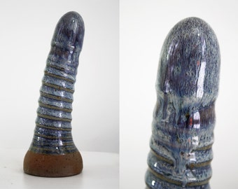 High fire fine art ceramic dildo 36