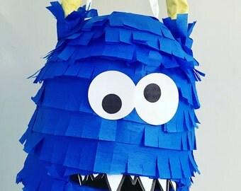Monster Pinata Toddler version /Terrible Two Monster/Birthday Pinata