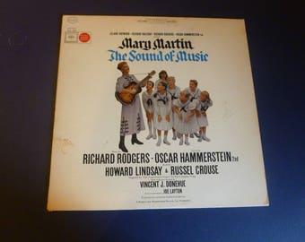 The Sound Of Music Origional Broadway Cast Mary Martin Vinyl Record LP KOS 2020 Stereo 1959