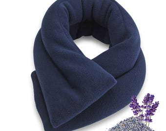 20% OFF Lavender Blue Microwave Heat Neck Wrap, 26x5, Rice, ExtraLong & Wide, Heating Pad, Neck Shoulder Back Hot Cold
