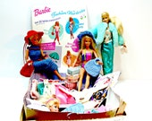 Vintage Barbie Dolls with Clothes and Accessories