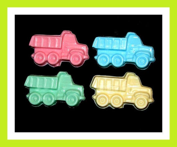 24 Dump Truck Soap Favors,Birthday Party Favor,Personalized Button Pin,Boy Birthday Favor,Girl Birthday Favor,Kid Soap,Kid Favor,Trucks