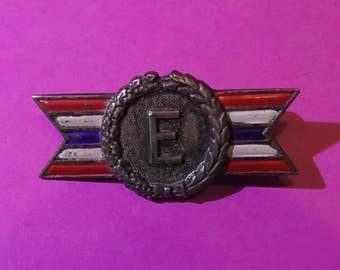 1940's - 50's Sterling Army Navy Production Award Pin