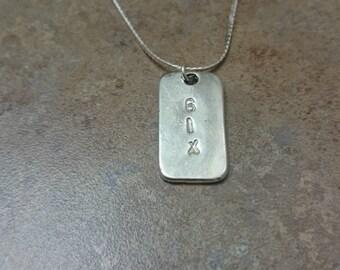 6ix necklace, Toronto jewelry. Toronto necklace, unisex necklace,  unisex jewelry