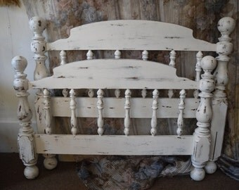 Single Bed Headboard and Foot Board Painted Furniture SINGLE TWIN Bed