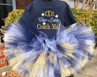 Navy, Gold and white Tutus, Newborn Tutu, Baby Tutu, Tutus for children, 1st birthday tutu, birthday tutu, mommy and me tutu
