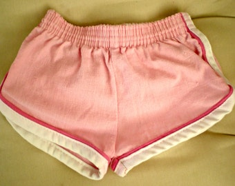 Pink Baby Girl Running Athletic Shorts, 6-9 Months