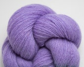 Wisteria Lilac Lavender Lace Weight Recycled Cashmere Yarn