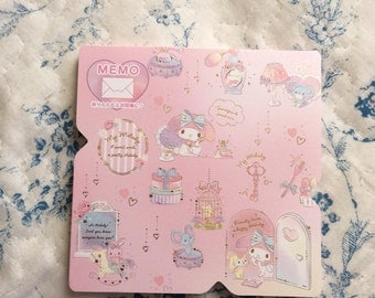 NEW Sanrio memo pad My Melody