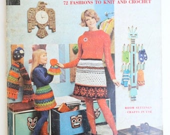 Vintage McCall's Needlework and Crafts Fall-Winter 1968-69 Magazine