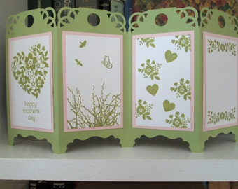 Mother's Day Card, Standing Screen Card