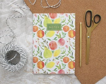 Orchard Fruit Notebook