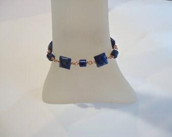 Lapis Bracelet, Lapis Copper Bracelet