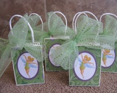Tinkerbell - Set of Six - Party Favor Bags - Fairies - Pixie Dust