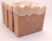 Honey Almond & Oatmeal Goat's Milk Bath Bar - great unisex stocking stuffer